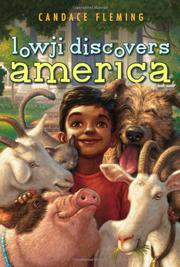 LOWJI DISCOVERS AMERICA by Candace Fleming