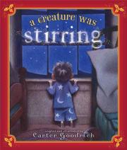 Book Cover for A CREATURE WAS STIRRING