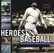 Book Cover for HEROES OF BASEBALL