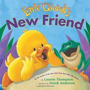 Cover art for LITTLE QUACK'S NEW FRIEND