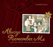 Book Cover for ALWAYS REMEMBER ME