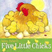 Book Cover for FIVE LITTLE CHICKS