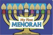Book Cover for MY FIRST MENORAH