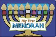 MY FIRST MENORAH by Salina Yoon