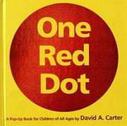 Cover art for ONE RED DOT
