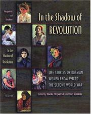 Book Cover for IN THE SHADOW OF REVOLUTION