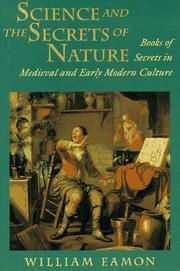 Book Cover for SCIENCE AND THE SECRETS OF NATURE