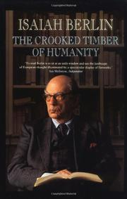 THE CROOKED TIMBER OF HUMANITY by Henry Hardy