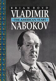 Book Cover for VLADIMIR NABOKOV