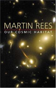 Book Cover for OUR COSMIC HABITAT
