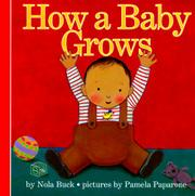 Cover art for HOW A BABY GROWS