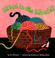 Cover art for WHAT IN THE WORLD?