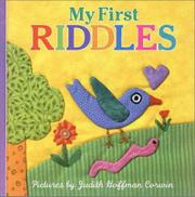 MY FIRST RIDDLES by Judith Hoffman Corwin
