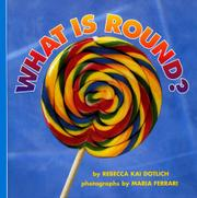 Cover art for WHAT IS ROUND?