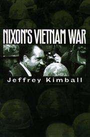 Cover art for NIXON'S VIETNAM WAR