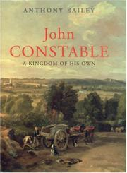 JOHN CONSTABLE by Anthony Bailey