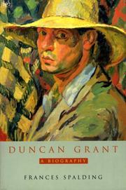 DUNCAN GRANT by Frances Spalding