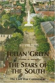 THE STARS OF THE SOUTH by Julian Green