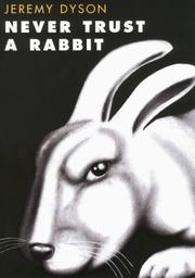 Cover art for NEVER TRUST A RABBIT