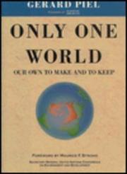 ONLY ONE WORLD by Gerard Piel
