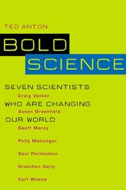 BOLD SCIENCE by Ted Anton