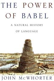 Cover art for THE POWER OF BABEL