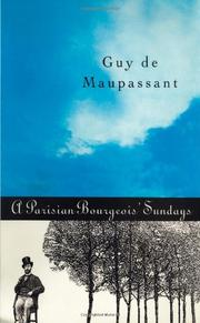A PARISIAN BOURGEOIS' SUNDAYS by Guy de Maupassant
