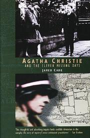 Cover art for AGATHA CHRISTIE AND THE ELEVEN MISSING DAYS