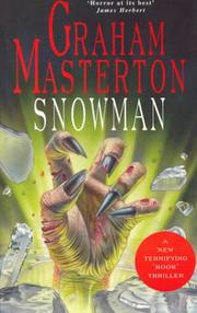 SNOWMAN by Graham Masterton