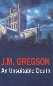 AN UNSUITABLE DEATH by J.M. Gregson