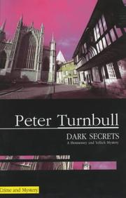 DARK SECRETS by Peter Turnbull