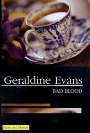 BAD BLOOD by Geraldine Evans