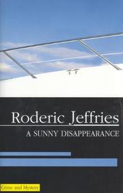 A SUNNY DISAPPEARANCE by Roderic Jeffries