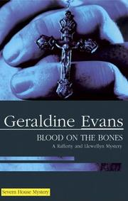 Cover art for BLOOD ON THE BONES