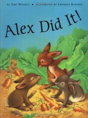 ALEX DID IT! by Udo Weigelt