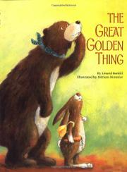 THE GREAT GOLDEN THING by Linard Bardill