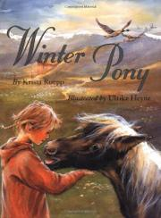 WINTER PONY by Krista Ruepp