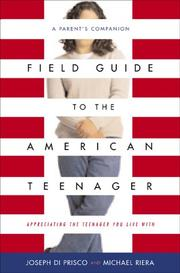 Book Cover for FIELD GUIDE TO THE AMERICAN TEENAGER