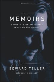 MEMOIRS by Edward Teller