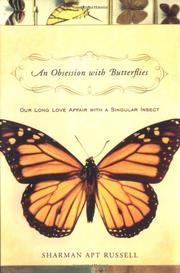 Cover art for AN OBSESSION WITH BUTTERFLIES