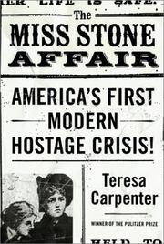 THE MISS STONE AFFAIR by Teresa Carpenter