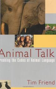 ANIMAL TALK by Tim Friend