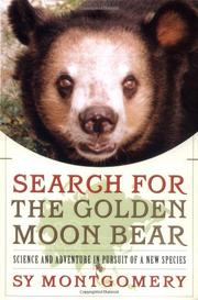 Book Cover for SEARCH FOR THE GOLDEN MOON BEAR