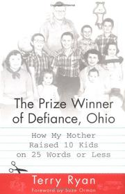 Book Cover for THE PRIZE WINNER OF DEFIANCE, OHIO
