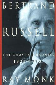 BERTRAND RUSSELL by Ray Monk
