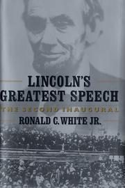 LINCOLN'S GREATEST SPEECH by