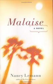 MALAISE by Nancy Lemann