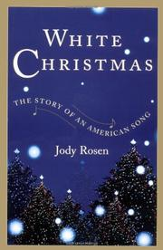 WHITE CHRISTMAS by Jody Rosen