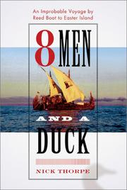 EIGHT MEN AND A DUCK by Nick Thorpe