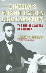Cover art for LINCOLN'S EMANCIPATION PROCLAMATION